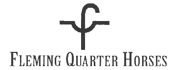 Fleming Quarter Horses Logo